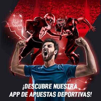 Descarga nuestra apps de apuestas deportivas sportsbook.