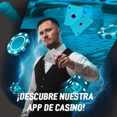 Juega bingo, backgammon, ruleta, slots y poker en nuestra app de casino