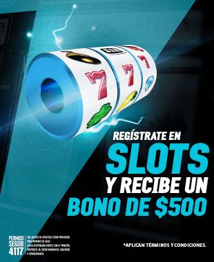 Bono primer deposito Slots