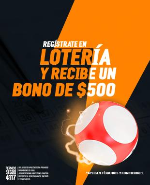 Bono Bienvenida Loteria