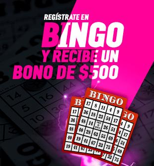 Bono bienvenida Bingo.