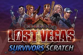 Juego de Sorteos Loteria Raspaditos Lost Vegas Survivors Scratch