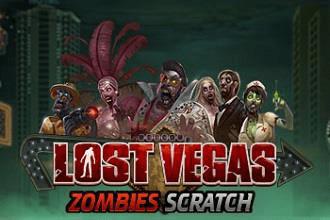 Juego de Sorteos Loteria Raspaditos Lost Vegas Zombies Scratch