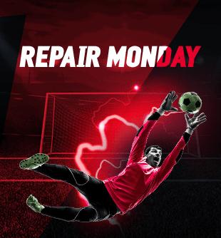 REPAIR MONDAY - Obtén un cashback del 10% (hasta $2,000) de las pérdidas hayas tenido jugando los domingos en Deportes con un bono para continuar jugando en Deportes.