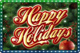 Juego de Slots y Maquinitas Happy Holidays