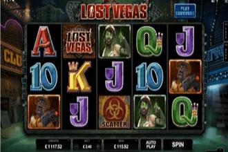 Juego de Slots y Maquinitas Lost Vegas