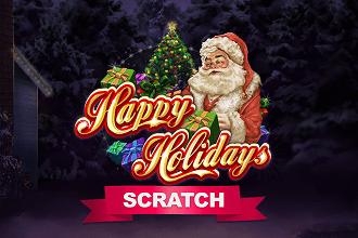 Juego de Sorteos Loteria Raspaditos Happy Holidays Scratch