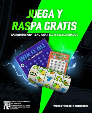 Promo Juega y Raspa Gratis Slots Loteria