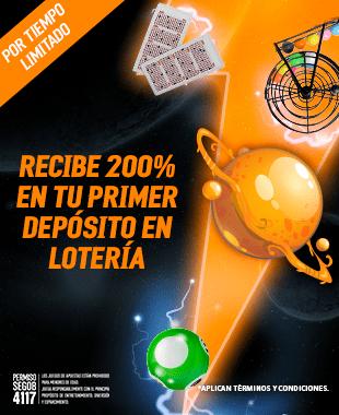 Primer Deposito Loteria