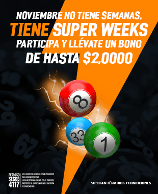Promo Super Week Lotería
