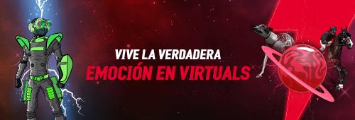 Disfruta las apuestas deportivas de Virtuals. Juega y apuesta de manera segura en Virtuals desde la comodidad de tu hogar.