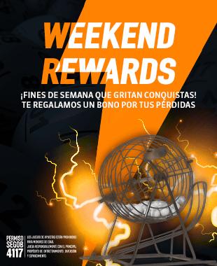 Promo Loteria Weekend Rewards Raspaditos
