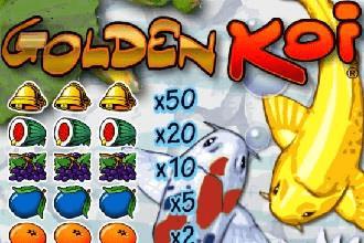 Juego de Sorteos Loteria Raspaditos Golden Koi