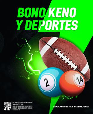 Promo Bono Keno y Deportes