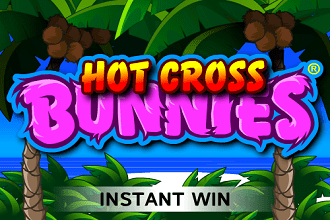 Juego de Sorteos Loteria Raspaditos Hot Cross Bunnies Pull Tab