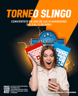 Torneo Slingo Lotería