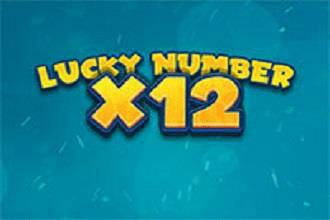Juego de Sorteos Loteria Lucky Numbers x12