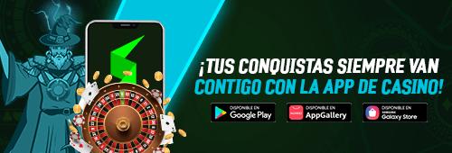 Descarga la app de Strendus Casino y vive todas tus conquistas con los juegos de Slots, Casino, Casino en Vivo, Video Bingo y Lotería. Disponible para Android en Google Play, Huawei App Gallery y Samsung Galaxy Store