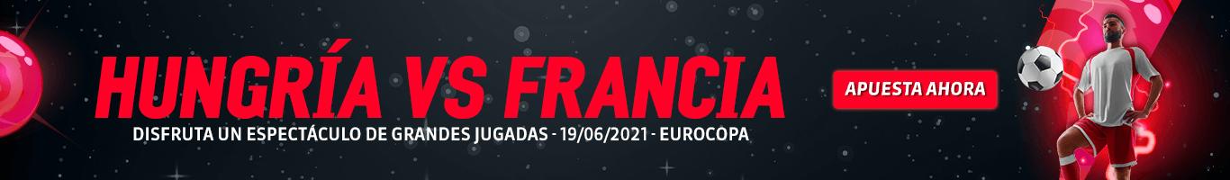 Eurocopa Hungría vs Francia Juegos