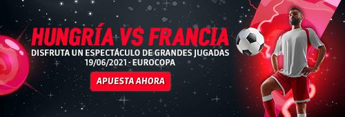Eurocopa Hungría vs Francia Juegos Bet