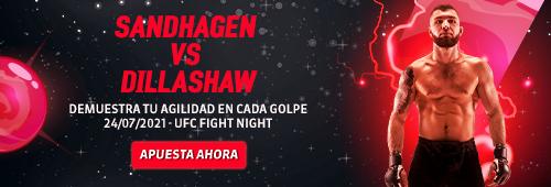 Apuesta en Pelea UFC Sandhagen vs. Dillashaw