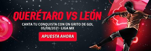 Apuesta Deportiva LigaMx Querétaro vs Leóns